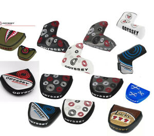 Odyssey-Golf-Swirl-Mallet-Lame-Putter-voile-Couvre-Divers-Style-Funky
