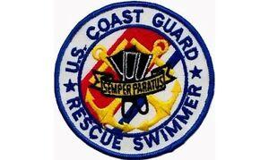U S Coast Guard Rescue Swimmer Patch Ebay