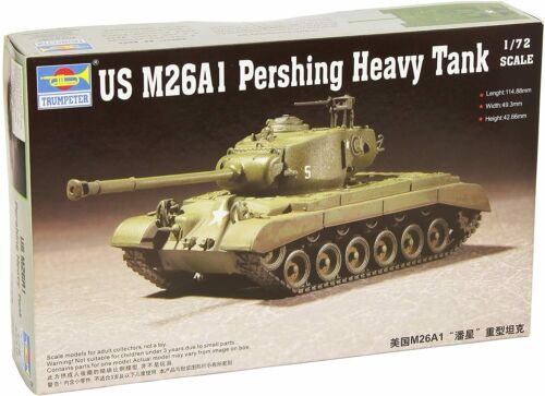 TRP 7286 US M26A1 Pershing Heavy Tank 1:72  New Free Shipping
