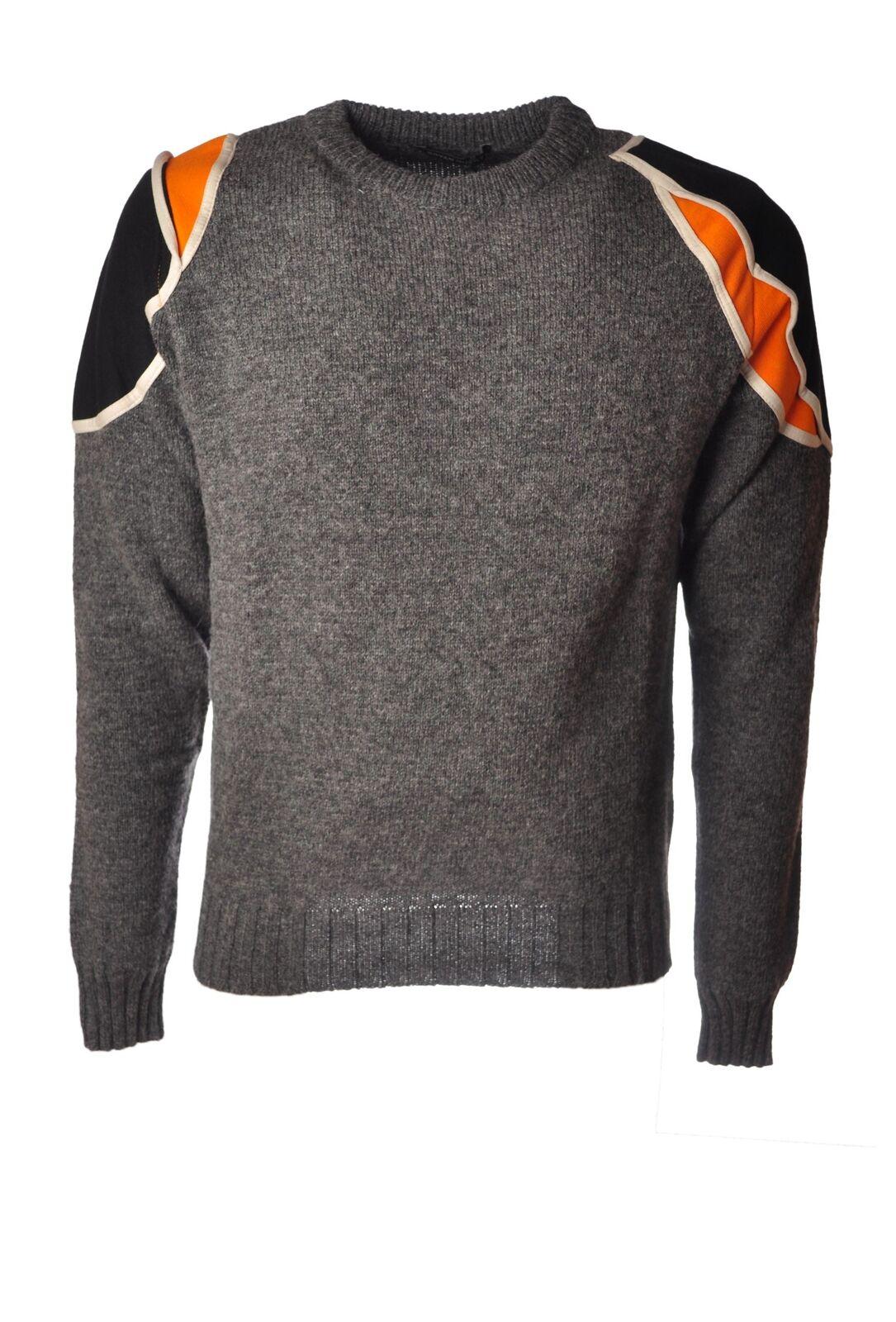 Bryan Husky  -  Sweaters - Male - Grau - 4511324A180432
