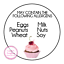 May-Contain-Allergen-Allergy-Nut-Wheat-Egg-Milk-Soy-Peanut-Round-Stickers-Cakes thumbnail 4