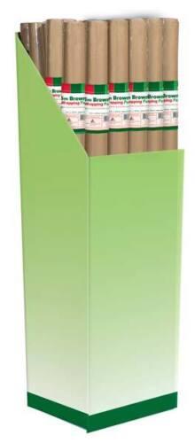 Envoltorio de papel Kraft Paquete Marrón 5M X 36 Rollos al por mayor