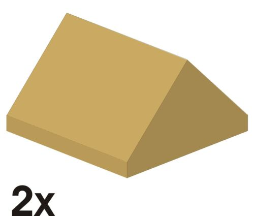 444 nuove first pietre 45 ° 2x2 Tan//beige 3043 2 St