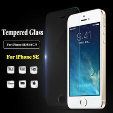 Tempered Glass Screen Protector Protective Film Guard For iPhone SE / 5C / 5S /5