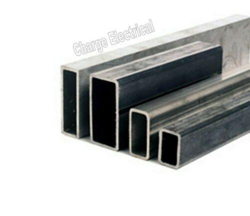 100mm -/> 375mm lengths 6082-T6 Aluminium Rectangular box section Tube 8 Sizes