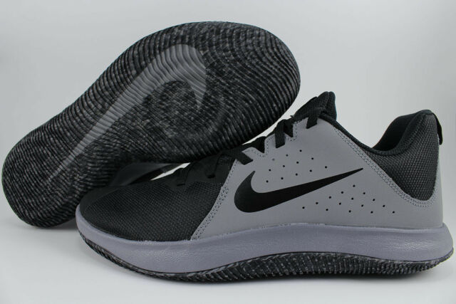free shipping c4aa6 b1671 NIKE FLY.BY LOW COOL GRAY BLACK WOLF GRAY BASKETBALL OVERPLAY VISI PRO