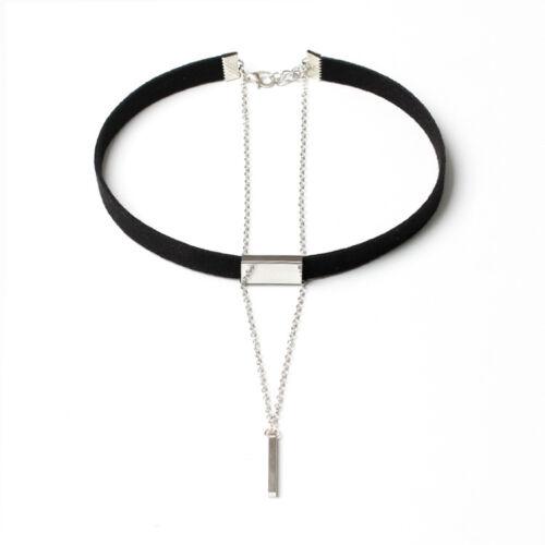 Gothic Retro Women/'s Punk Velvet Choker Pendant Necklace Jewelry Hot