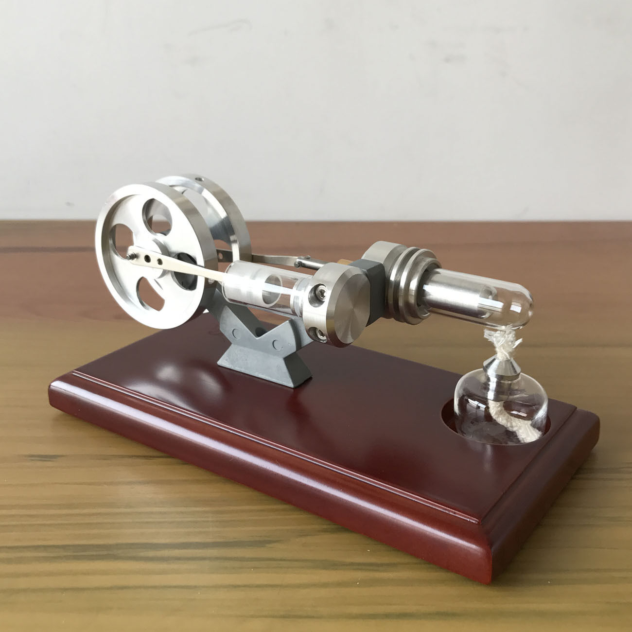 Hot Air Stirling Engine Model DIY Micro Motor Power Engine Generator Model Toy