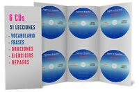 Curso De Ingles, 6 Audio Cds Aprenda Ingles Facil
