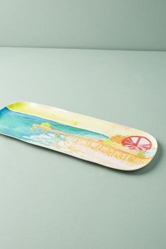 NWOT ANTHROPOLOGIE Sunscene Melamine Platter