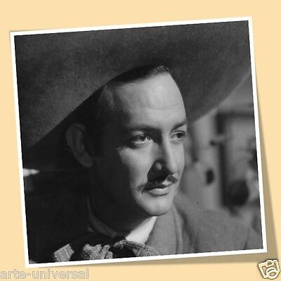 JORGE NEGRETE CHARRO CANTOR PRINT POSTER MEXICAN MOVIES MEXICO ACTOR SINGER a
