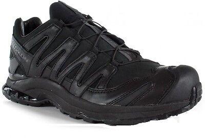 Chaussures Cuir Salomon Xa Pro 3d Ltd M - Black/black/black Eu 46 2/3 Completa In Specifiche