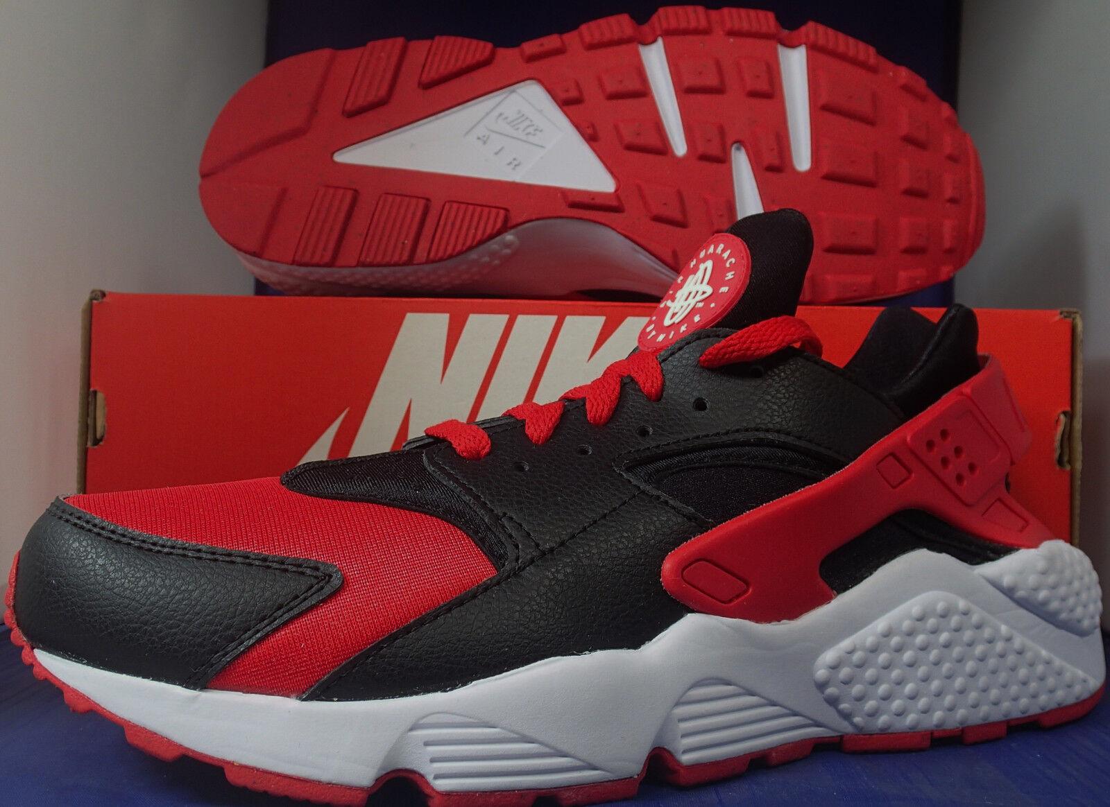 Nike air huarache correre id id id università rosso - bianco - nero sz 9,5 (777330-994) | Superficie facile da pulire  | Scolaro/Signora Scarpa  76227d