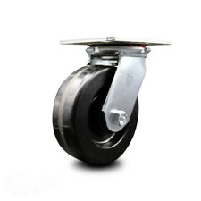 6 Inch Heavy Duty Top Plate Phenolic Swivel Caster With Ball Bearing Scc