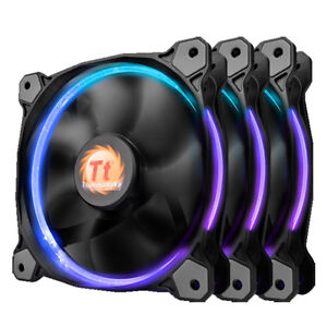 ThermalTake-Riing12-Led-RGB-Fan-256-Colors-120mm-includes-3-Fans-and-Fan-Switch