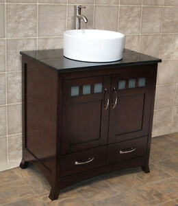 Details About 30 Bathroom Vanity Inch Cabinet White Quartz Top Vessel Sink T4
