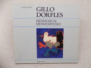GILLO-DORFLES-Metamorfosi-Metamorphoses-Luciano-Caramel-Peinture-Italienne