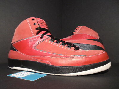new product 8745b d55d7 Nike Air Jordan II 2 Retro QF CANDY PACK RED OCTOBER BLACK WHITE 395709-601  14 | eBay