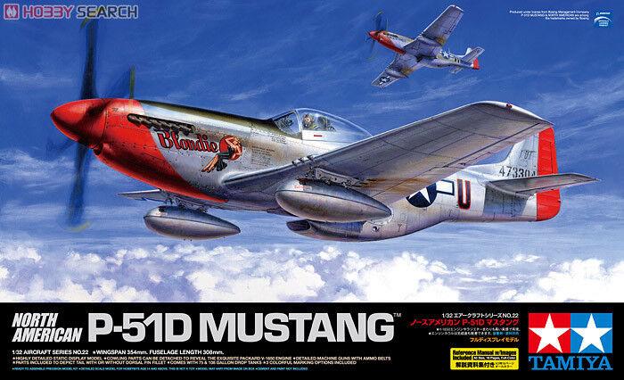 1 32 Tamiya North American P-51D Mustang