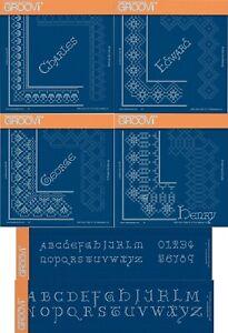 Kleinbuchstaben Card Stanzschablone