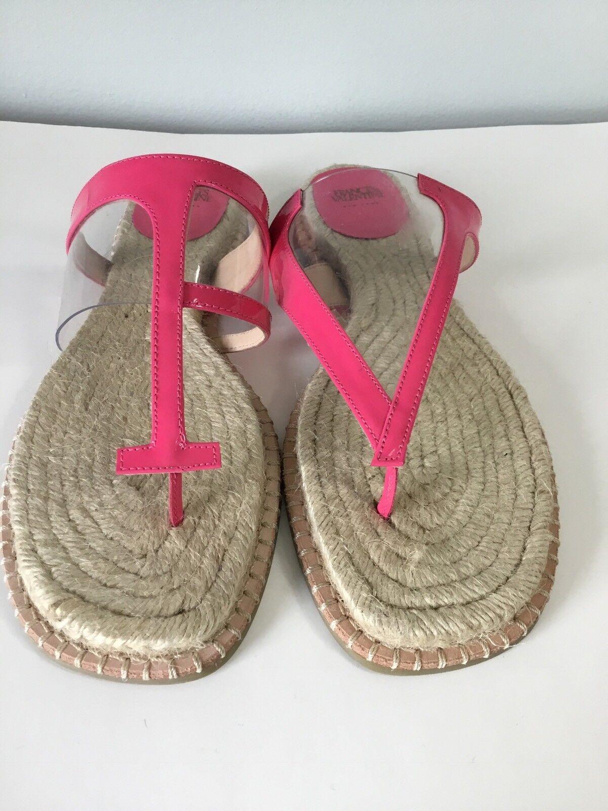 Frances Valentine Hannah Espadrille Sandals Size   9B New