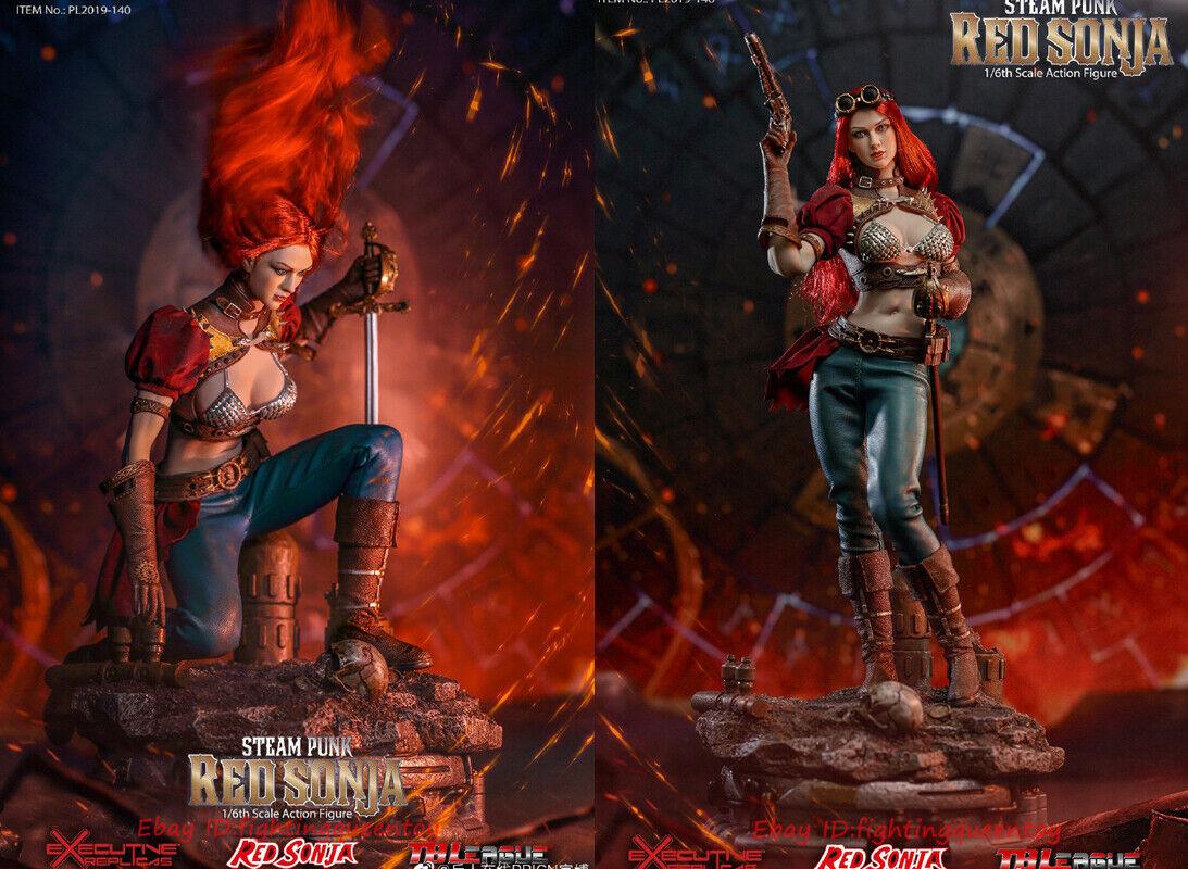 rojo Sonja Punk Tbleague PL2019-140-B 1 6 Figura de Acción Versión Deluxe En Existencias
