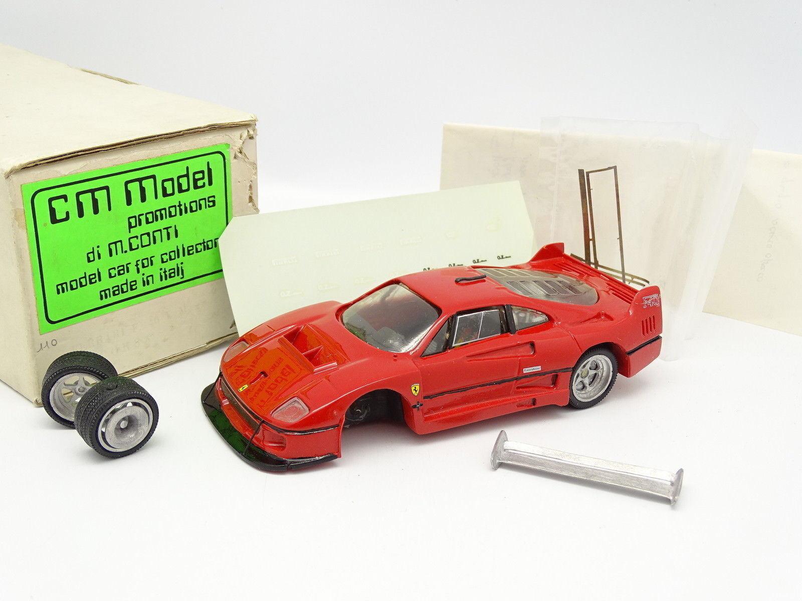 Contimodel Set Built Resin 1 32 - Ferrari F40 LM Corsa