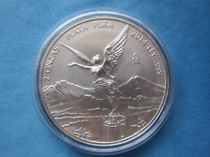 2014 1//2 oz Mexican Silver Libertad BU 23,000 Mintage