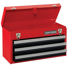 Craftsman Portable 205 In Ball Bearing 3 Drawer Red Steel Lockable Tool Box
