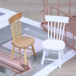 1-12-Dollhouse-miniature-dining-furniture-wooden-ch-YLJC3C