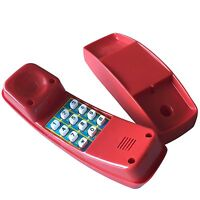 Spieltelefon Kinder Telefon Rot Für Spielhaus Spielturm Kinderhandy
