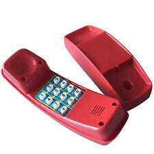 Spieltelefon Kinder Telefon rot für Spielhaus Spielturm Spielzeug Kletterturm