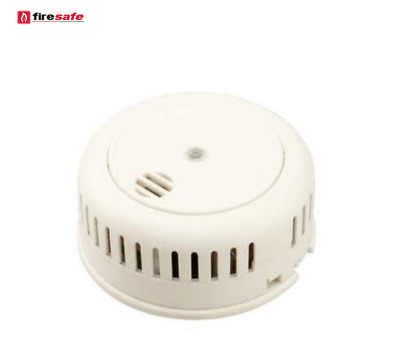 Firesafe Optical Smoke Alarm With 9v 10 Year Lithium Battery Ebay