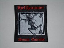 HELLHAMMER DEMON ENTRAILS EMBROIDERED PATCH