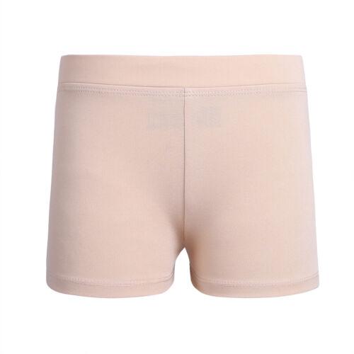Kids Girls Dance Gym Shorts Mermaid Sport Costume Gymnastics Hot Pants Dancewear
