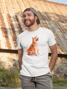 Shiba Inu Relaxed And Sitting Men's Tee -Image by Shutterstock