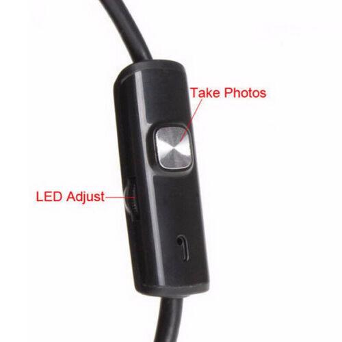 1.5M 6 LED 5.5mm Android Endoscopio USB Ispezione Fotocamera Impermeabile IPRSPF