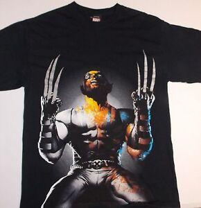 Marvel-Comic-X-Men-Wolverine-T-Shirt-SZ-Medium-Super-Condition