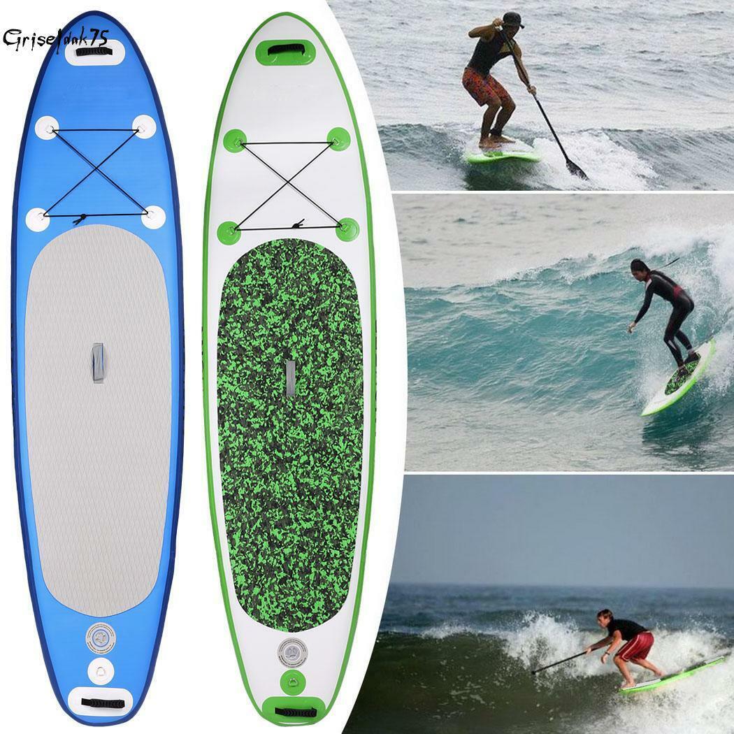 SUP Board Stand Up Paddling Surfboard aufblasbar inkl. Paddel ISUP Modell 2019