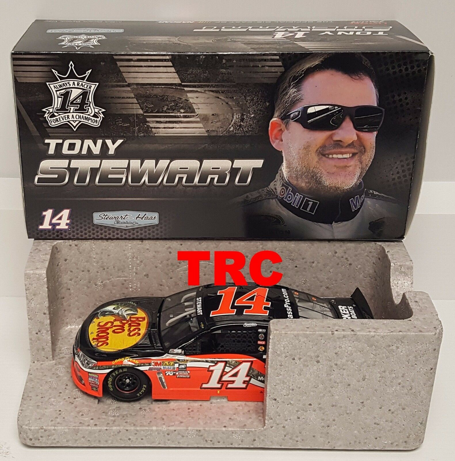 Tony Stewart 2016 Lionel Collectibles  14 Bass Pro Shops 1 24 FREE SHIP