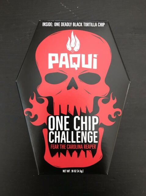 SOLD OUT Paqui One Chip Challenge 2019 - Carolina Reaper Pepper - LIMITED TIME