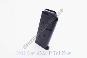 1911-7rd-Full-Size-Magazine-45-ACP-Hooper-Gun-Works-HGW-920-45FS7B-Black