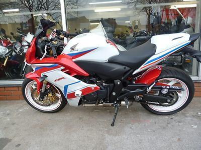Honda CBR CBR600F 600cc Sports WHITE