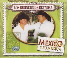 Los Broncos de Reynosa Mexico Y su Musica 3CD New Nuevo sealed BOX SET