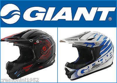 GIANT casco integrale DH ENDURO mtb 100/% bike helmet Fullface Matte Cyan blu