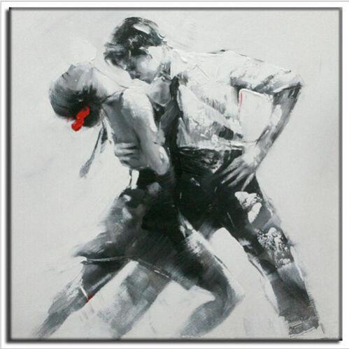 YA1006 dipinto a mano figura astratta dipinto ad olio su tela Ballerini NO FRAME 24in