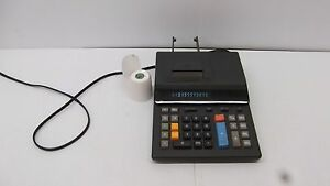 Details about TA Triumph Adler 8600HD Office Desktop Printing Calculator  With 1 Roll Of Paper