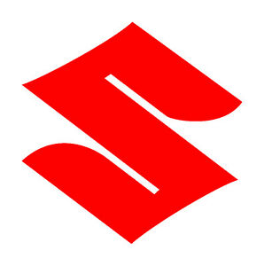 Suzuki Logo - 3M Scotchlite Reflective (Decal Sticker 680 MotorBike Car GSX GSR)