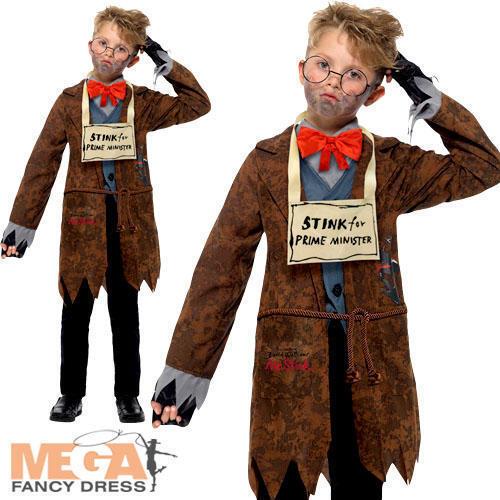 David walliams Deluxe Mr puzza Ragazzi Costume World Book Day Bambino Costume da bambino