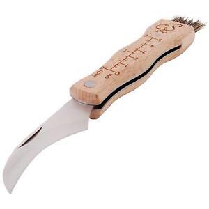 Esschert-Design-Pilzmesser-Edelstahl-Buchenholzgriff-Pinsel-aus-Schweineborsten